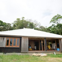 DIYで建てた家