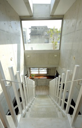 アパート最上階にあるわが家