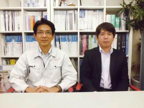 左から、代表取締役・仲宗根守英さん、設計担当・仲村渠孝浩さん